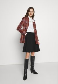 Anna Field - BASIC MINI A-LINE SKIRT - Minifalda - black - 1