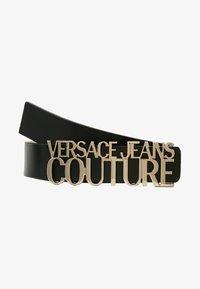 Versace Jeans Couture - LOGO BELT - Cintura - nero - 3