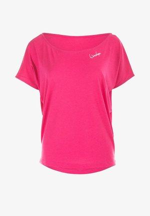 MCT002 ULTRA LIGHT - Print T-shirt - deep pink