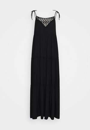 LANG - Maxi šaty - black