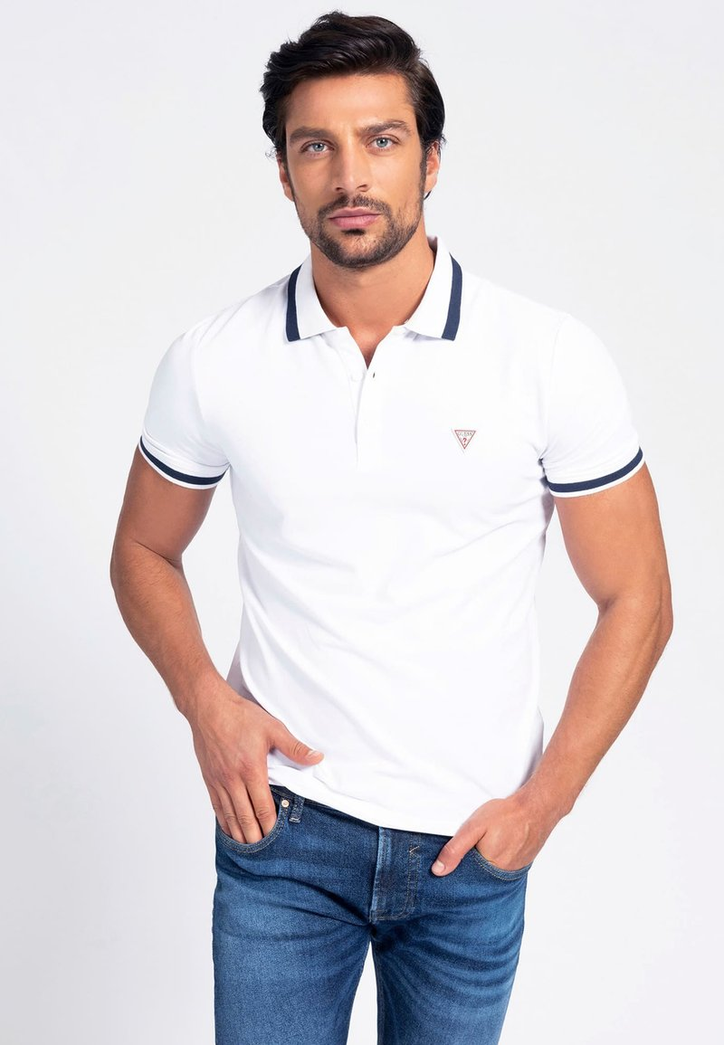 Guess - Polo shirt - weiß