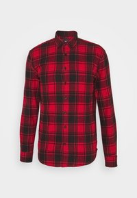 Denim Project - CHECK - Shirt - red - 5
