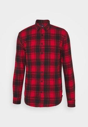 CHECK - Skjorta - red