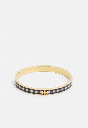KIRA ENAMEL BRACELET - Armbånd - gold-coloured/black