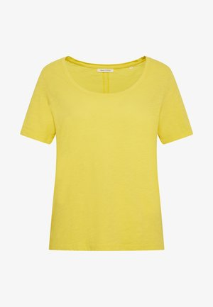SHORT SLEEVE ROUND NECK - Basic T-shirt - sunny lime