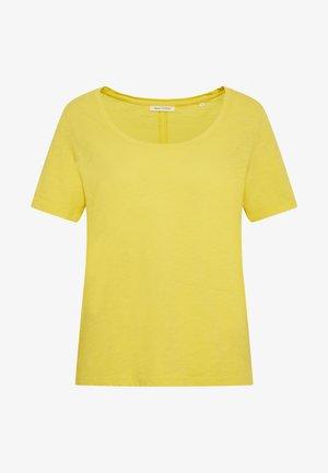 SHORT SLEEVE ROUND NECK - Jednoduché triko - sunny lime