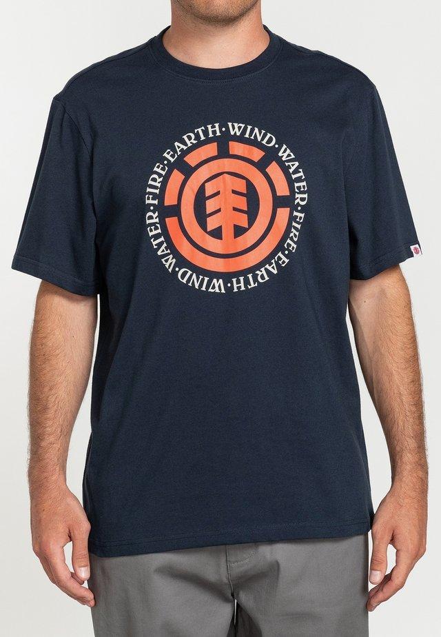 T-shirts print - eclipse navy