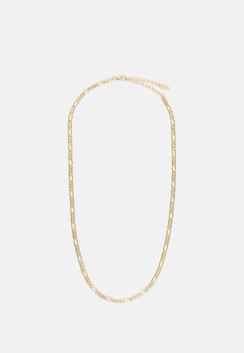 Orelia - FIAGARO CHAIN NECKLACE - Necklace - pale gold-coloured
