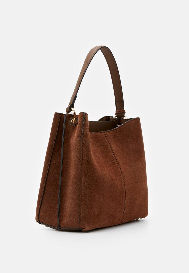 L. CREDI - FIORETTA - Handbag - cognac