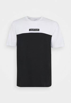 COLOR BLOCK - Basic T-shirt - white