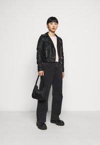 Dr.Denim Petite - ECHO - Jeans relaxed fit - concrete black - 1