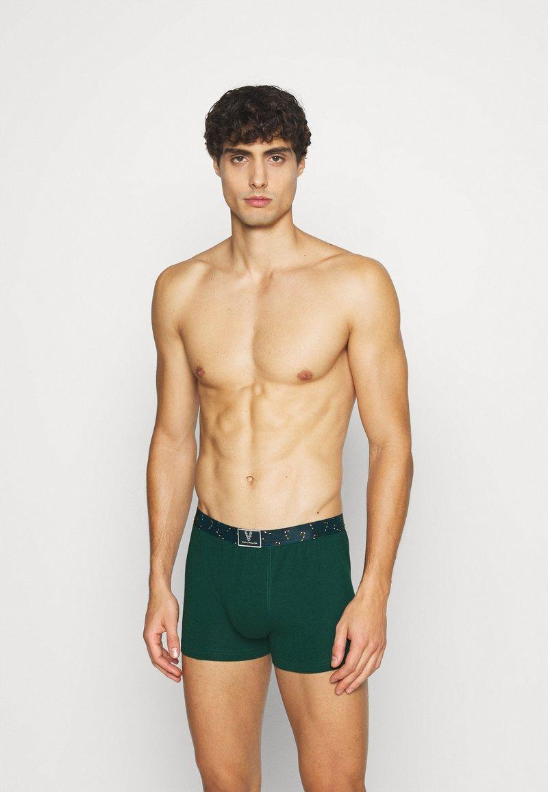 TOM TAILOR - X-MAS 2ER PACK - Panties - red/dark green
