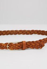Vanzetti - Braided belt - cognac - 4