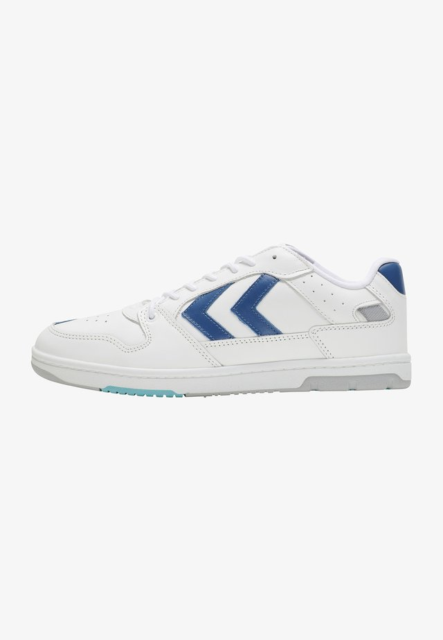 POWER PLAY - Sneakers laag - white blue