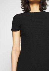 Tommy Jeans - BODYCON SMOCK DRESS - Shift dress - black - 3