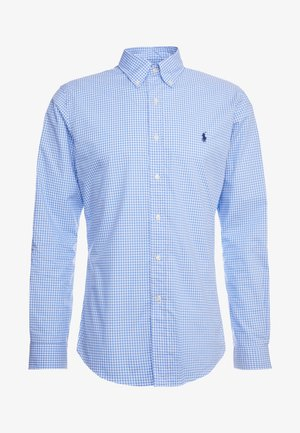 NATURAL SLIM FIT - Shirt - blue/white