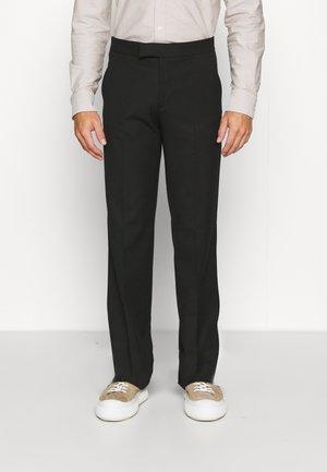 CALEB TROUSERS - Spodnie materiałowe - black