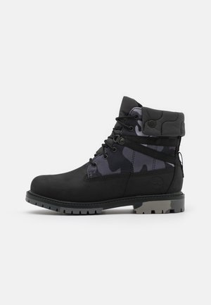 6 IN HERITAGE WP - Bottines à lacets - black