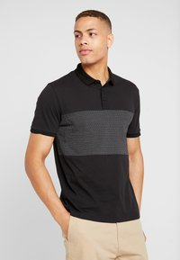 Pier One - Polo shirt - black - 0