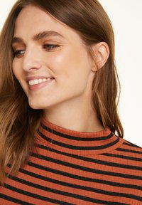 comma casual identity - Long sleeved top - cognac stripes - 3