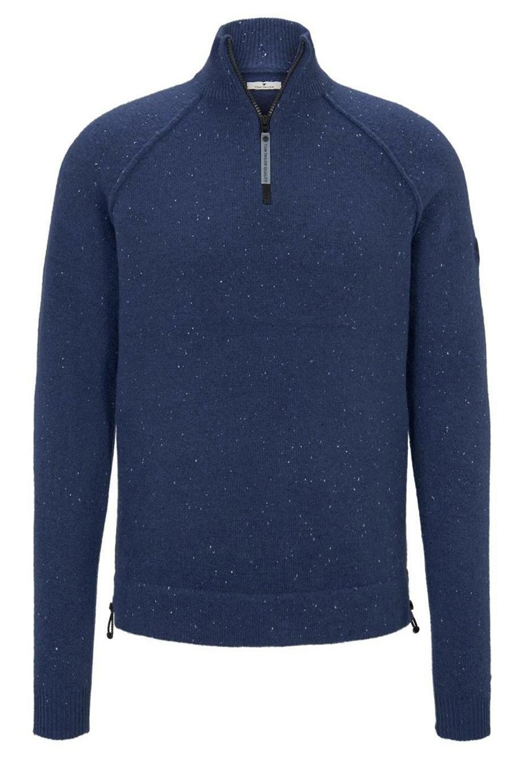 TOM TAILOR COSY TROYER - Pullover - dark blue