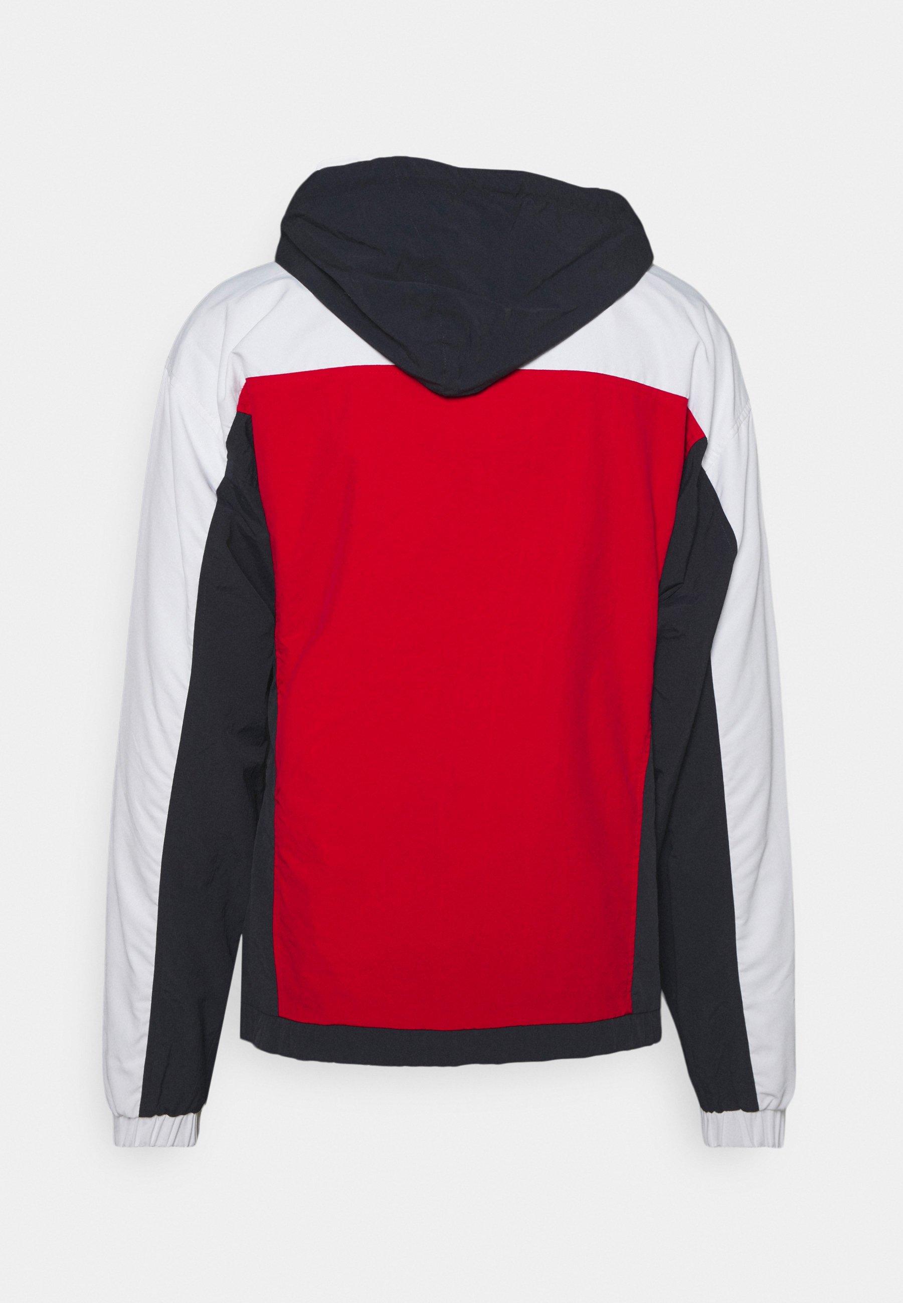 Men RETRO BLOCK REVERSIBLE WINDBREAKER  - Summer jacket