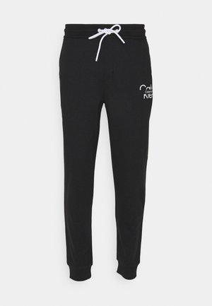 REFLECTIVE LOGO UNISEX - Pantalon de survêtement - black