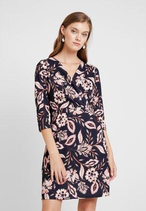 WRAP DRESS BODYCON - Jersey dress - navy revival