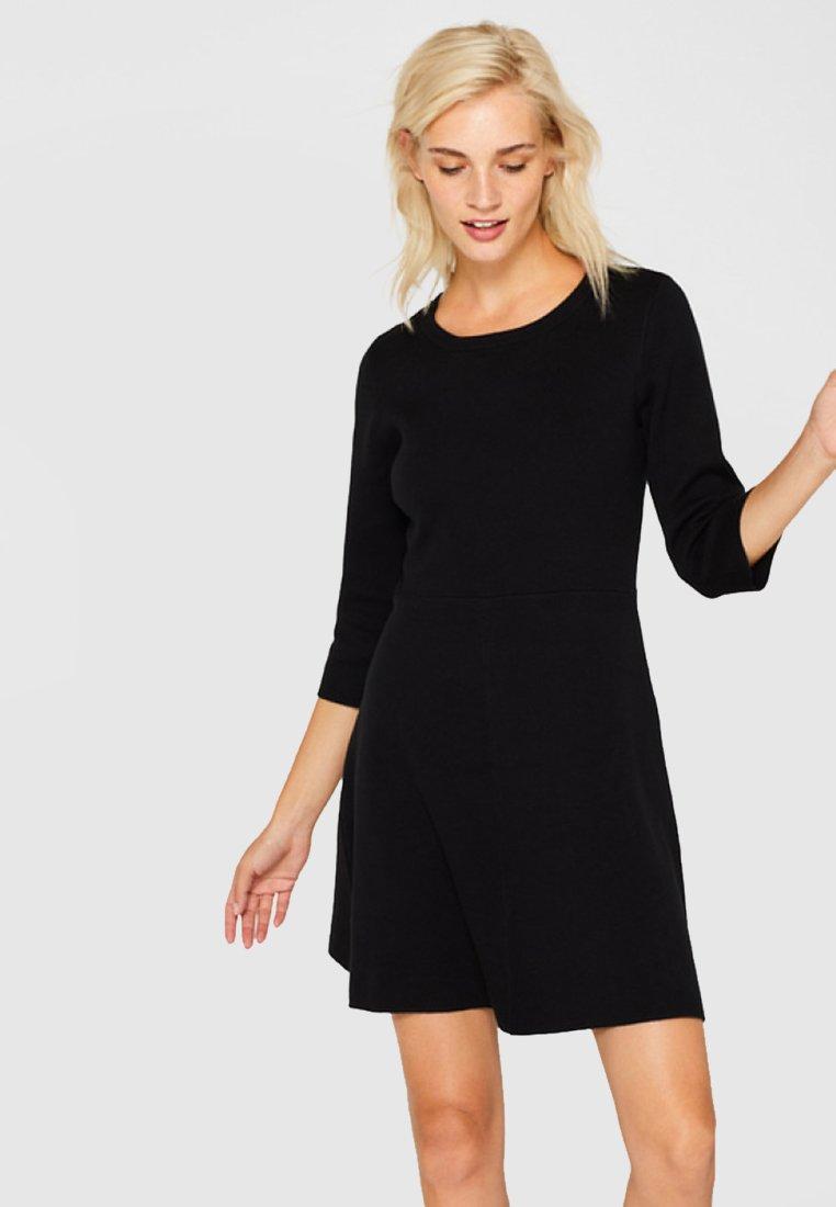 Esprit - Jumper dress - black