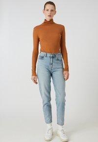 ARMEDANGELS - MALENAA - Long sleeved top - brown - 1