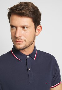 Tommy Hilfiger - TIPPED SLIM FIT - Polo - blue - 3