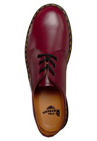 Dr. Martens - 1461- 3 EYE SHOE - Sznurowane obuwie sportowe - cherry red - 6