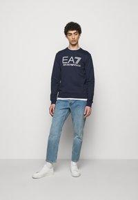 EA7 Emporio Armani - Sweater - dark blue/white - 1