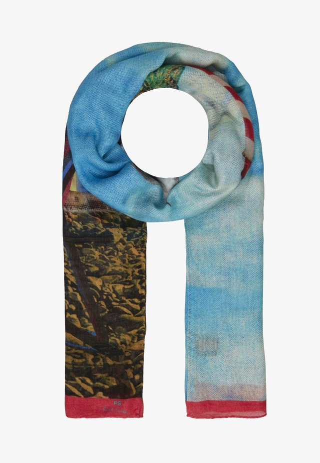 WOMEN SCARF BEACH HUTS - Strandhåndkle - multi-colored