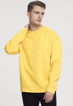 OPEN EDGE CREW - Sweatshirt - chrome yellow