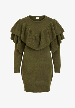Jumper dress - ivy green