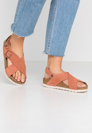 TULUM - Sandals - earth red