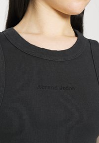 Abrand Jeans - HEATHER SINGLET - Top - black sea - 5
