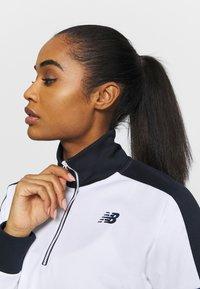 New Balance - ACHIEVER HALF ZIP - Long sleeved top - white - 3