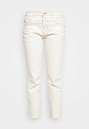 TROUSER MID WAIST BOYFRIEND - Džíny Relaxed Fit - ecru wash