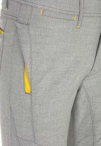 Cipo & Baxx - MIT ZIERNÄHTE - Trousers - grey - 8