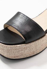 Vagabond - FELICIA - Platform sandals - black - 6