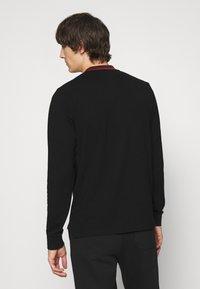 Vivienne Westwood - CLASSIC STRIPE COLLAR - Polo shirt - black - 2