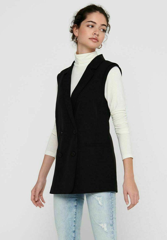 ONLY - Waistcoat - black