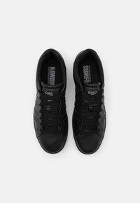K-SWISS - COURT WINSTON - Sneakers laag - black - 3