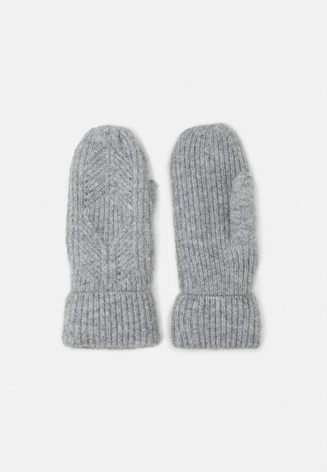 ONLERIKA LIFE MITTEN - Moufles - light grey melange