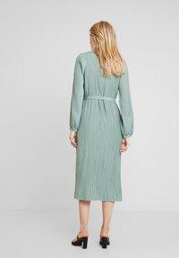 Love Copenhagen - INES PLEATED DRESS - Day dress - faded green - 2