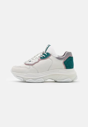 BAISLEY - Sneakers laag - off white/pink/teal