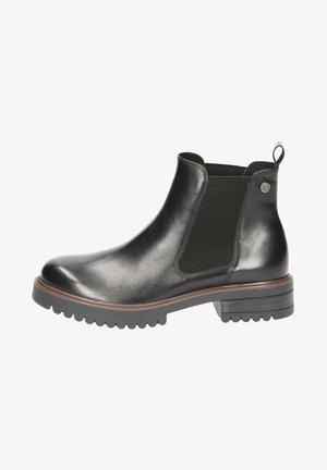 STIEFELETTE - Cowboy/biker ankle boot - black nappa