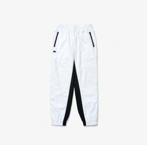Trousers - weiß / navy blau